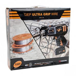 TJEP Ultra GRIP wire, galv., f/TJEP XP & Ultra Grip. 40 rl. - TJ124153