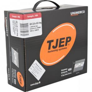 TJEP GR28/63 ringsøm varmgalv., Reduced head. Maxibox 2.500 TJ834063