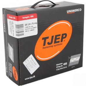 TJEP GR28/75 Ringsøm varmgalv., Reduced head. Maxibox 2.000 - TJ834075