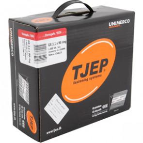 TJEP GR31/90 Ringsøm varmgalv., Reduced head. Maxibox 1.800 - TJ834090
