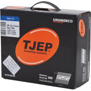 TJEP GR28/51 Ringsøm, galv 5 microns. Box 3.500 pcs. - TJ834150