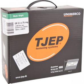 TJEP GR31/75 Ringsøm blank, Reduced head. Box 2.000 pcs - TJ834275