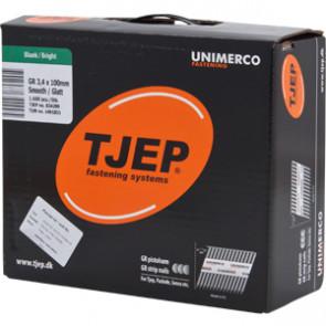 TJEP GR34/100 Glat blank, Reduced head. Box 1.600 pcs - TJ834299