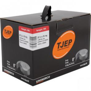 TJEP ZE21/35 Ringsøm varmgalv., Full head. Box 2.600 pcs. - TJ835035