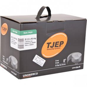 TJEP ZE25/45 Ringsøm blank, Full head. Box 1.950 pcs. - TJ835245