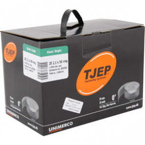 TJEP ZE21/50 Ringsøm blank, Full head. Box 1.950 pcs. - TJ835250