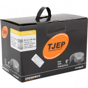 TJEP ZE25/50 ringsøm rustf. 4A, Lense head. Box 1.950 pcs. TJ835351