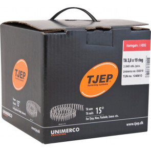 TJEP TA30/19 Varmgalv., t/tagpap. Box 3.840 stk - TJ836019
