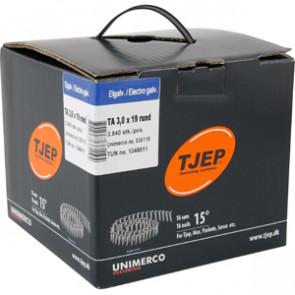 TJEP TA30/19 elgalv., t/tagpap. Box 3.840 stk - TJ836119
