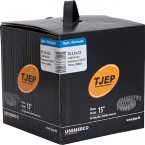 TJEP TA30/25 elgalv., t/tagpap. Box 2.880 stk. - TJ836125