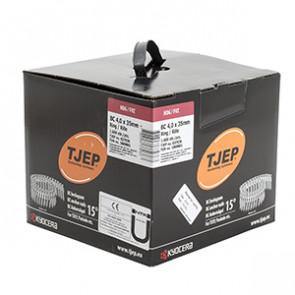 TJEP BC40/35 kamsøm varmgalv., Full head. Box 1.600 pcs. TJ837036
