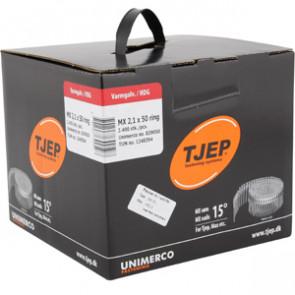 TJEP MX21/50 Ringsøm varmgalv., Full head. Box 2.400 pcs. - TJ839050
