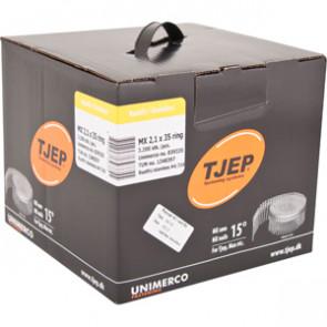 TJEP MX21/35 ringsøm rustf. 4A, Lense head. Box 3.200 pcs. - TJ839335