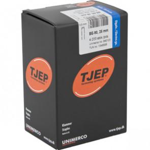 TJEP BE-90 Klammer 25mm, m/lim. Elgalv. 4.000 stk. - TJ840125