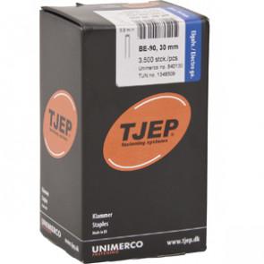 TJEP BE-90 Klammer 30mm, m/lim. Elgalv. 3.500 stk. - TJ840130