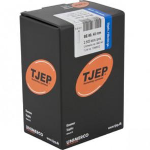 TJEP BE-90 Klammer 40mm, m/lim. Elgalv. 2.500 stk. - TJ840140