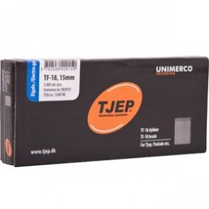 TJEP TF18 stifter 19mm , Elgalvaniseret. 5.000 stk. - TJ842019