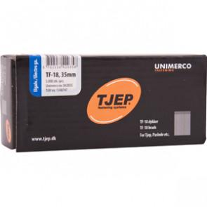 TJEP TF18 stifter 35mm, Elgalvaniseret. 5.000 stk. - TJ842035