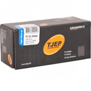 TJEP TF18 stifter 45mm, Elgalvaniseret. 5.000 stk. - TJ842045