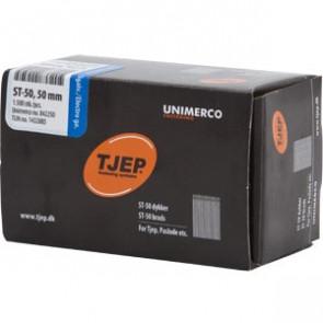 TJEP ST50 40mm ståldykker, Elgalvaniseret. Box 1.500 stk. - TJ842240