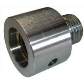 "Vicmarc Adaptor, Spindle M33 x 3.5 F - 1 1/4"" x 8 M - V00033"