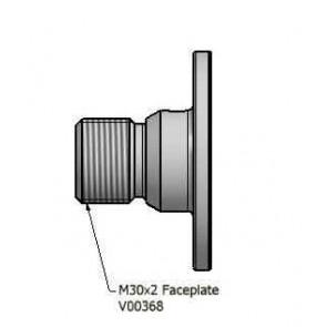Vicmarc Eccentric, Ball Faceplate M30 x 2 - V00368