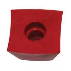 Vicmarc Bowl Jaw, Replacement Red Grip - V00440