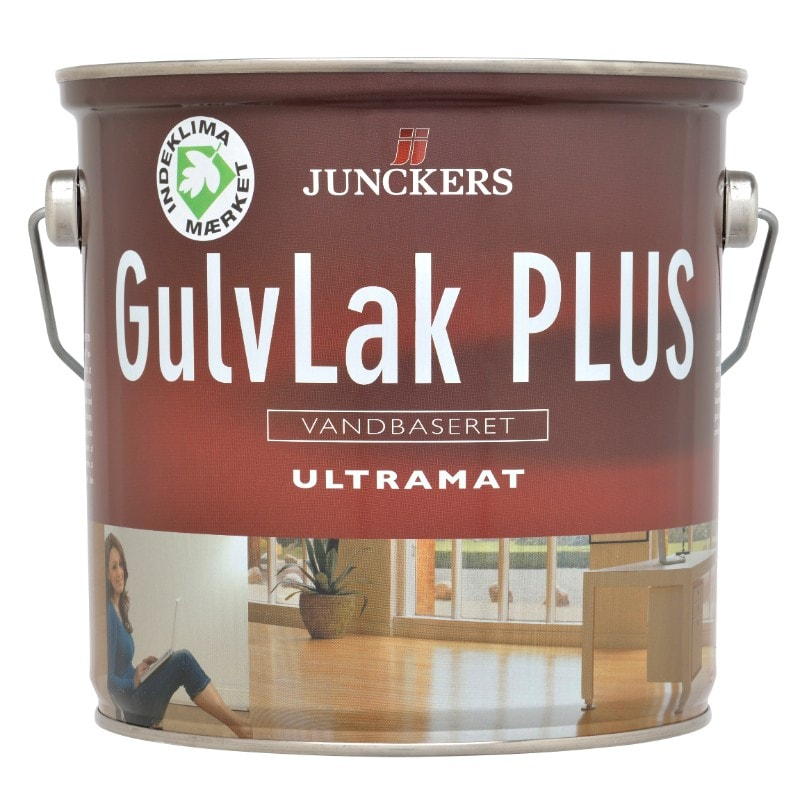 Billede af Junckers GulvLak Plus Havlblank, vandbaseret 0,75 ltr.