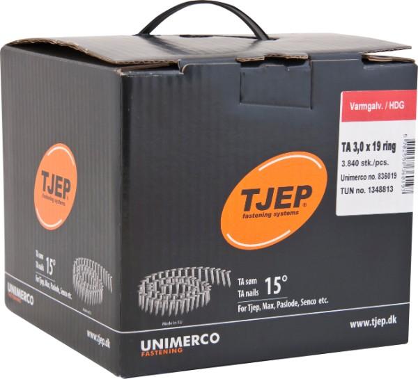 Køb TJEP TA30/19 Varmgalv., t/tagpap. Box 3.840 stk