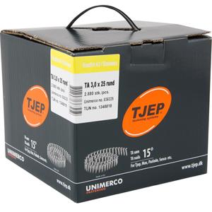Køb TJEP TA30/25 rustf. 2A, t/tagpap. Box 2.880 stk.