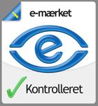 e-mærket kontrolleret