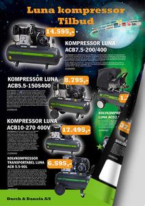 Tilbud på Luna kompressorer