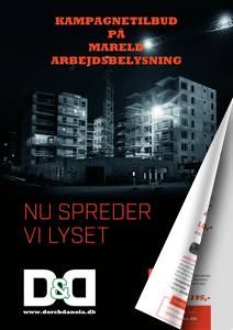 Kampagnetilbud på Mareld arbejdslamper og arbejdsbelysning