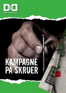 ESSVE kampagne på Terrasseskruer og HDS