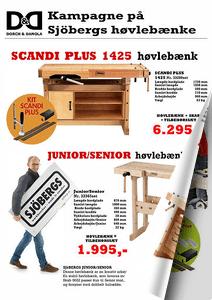 Kampagnetilbud på Sjøbergs høvlebænke 2017 hos Dorch & Danola