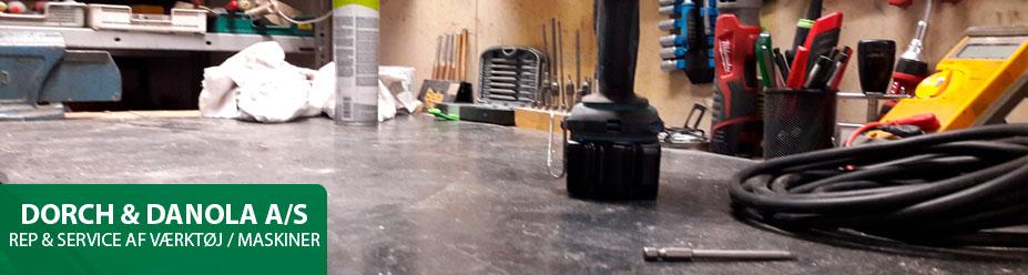 Reparation af elværktøj & maskiner i Odense