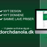 Dorch og Danola relancerer webshop og sletter netbutik