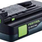 Festool kompakt batteri 18V 3.1 Ah