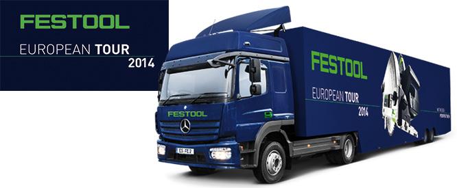 Festool roadshow 2014 og Dorch Danola