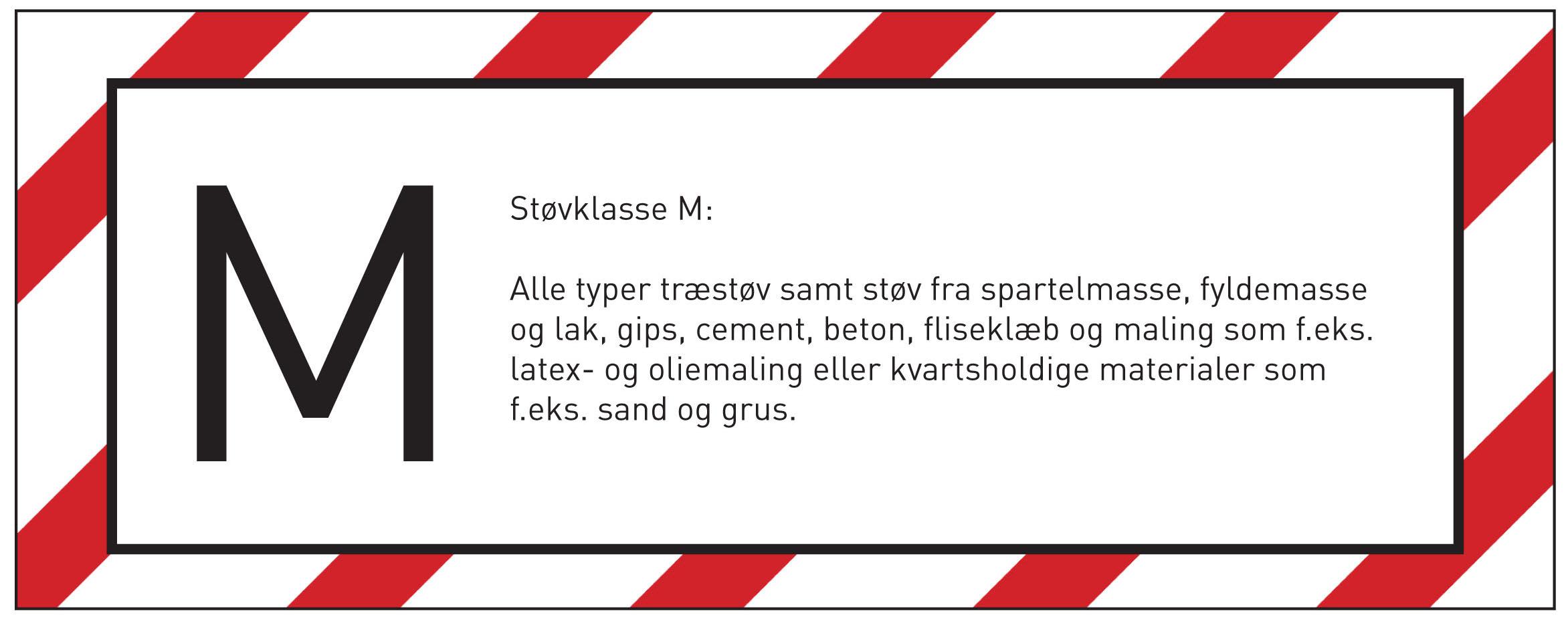 Støvklass M